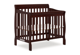 628-E Aden 4 in 1 Convertible Mini Crib Silo Side