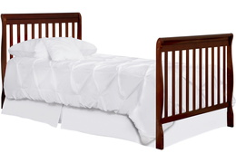 628-E Aden Twin-Size Bed with Footboard Silo