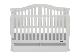Grey Addison 5 in 1 Convertible Crib Silo Front1