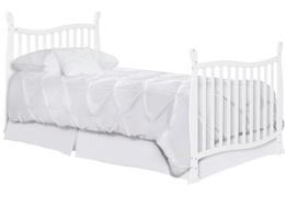 631-W Violet/Piper Twin-Size Bed with Footboard Silo