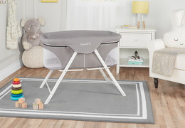 Traveler Portable Bassinet Room Scene