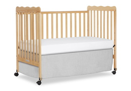 Natural Classic 3 in 1 Convertible Crib Day Bed Silo
