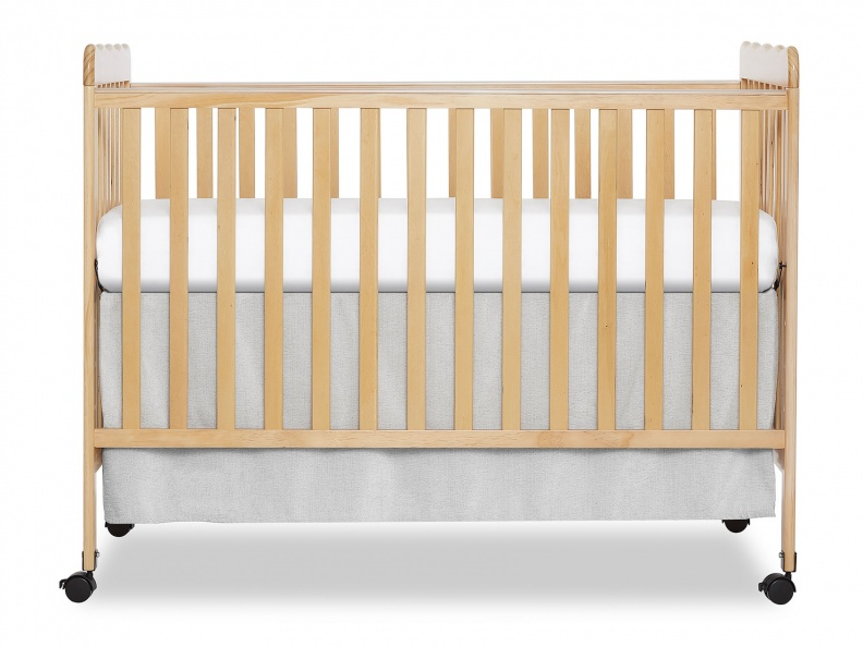 Natural Classic 3 in 1 Convertible Crib Front Silo