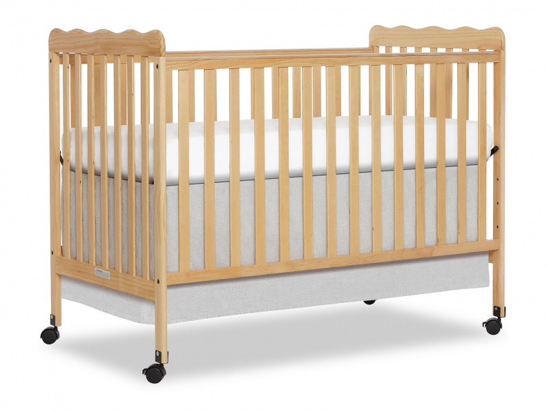 Natural Classic 3 in 1 Convertible Crib Side Silo