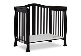 Black Addison 4 in 1 Convertible Crib Day Bed Silo