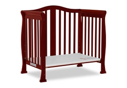 Cherry Addison 4 in 1 Convertible Crib Day Bed Silo