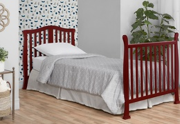 633-C Addison Twin-Size Bed with Footboard Room Shot