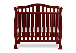 633-C Addison 4 in 1 Convertible Mini Crib Front Silo