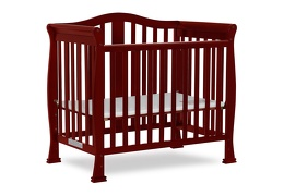 633-C Addison 4 in 1 Convertible Mini Crib Side Silo