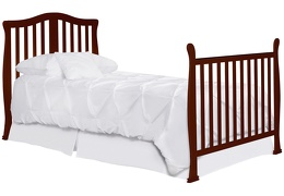 633-E Addison Twin-Size Bed with Footboard Silo