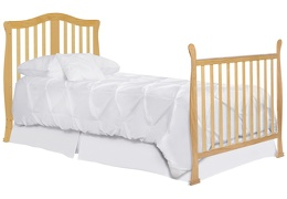 633-N Addison Twin-Size Bed with Footboard Silo