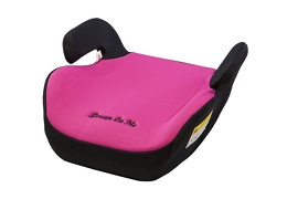 Coupe Booster Car Seat - Black and Pink