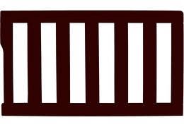 692-CH Universal Convertible Crib Toddler Guard Rail