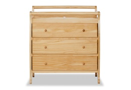 Liberty 3 Drawer Changing Table Silo Front - Natural