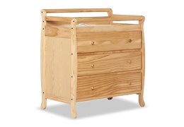 Liberty 3 Drawer Changing Table Silo Side - Natural