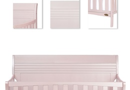 751-BP Bailey 5 in 1 Convertible Crib Details