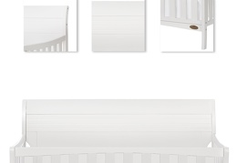 751-W Bailey 5 in 1 Convertible Crib Details