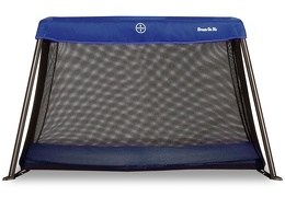 Blue Travel Light Play Yard Front