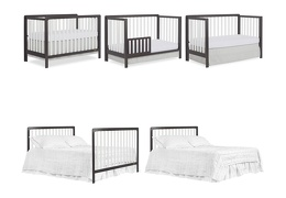 DEW - Ridgefield 5 in 1 Convertible Crib Collage