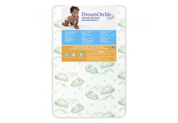 3″ Foam Play Yard Mattress Front