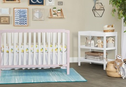 BPW - Ridgefield 5 in 1 Convertible Crib Roomshot  02