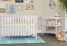BPW - Ridgefield 5 in 1 Convertible Crib Roomshot  01