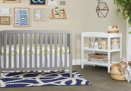 SGY - Ridgefield 5 in 1 Convertible Crib Roomshot  02