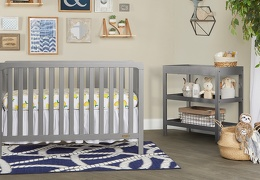 SGY - Ridgefield 5 in 1 Convertible Crib Roomshot  01