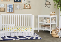 W - Ridgefield Toddler Bed Roomshot