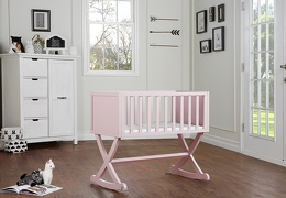Blush Pink Luna/Haven Cradle Roomshot