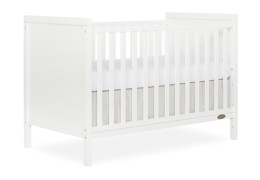 White - Springfield 3 in 1 Convertible Crib Side Silo