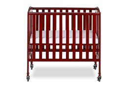 Cherry 3 in 1 Folding Portable Crib 02 Silo