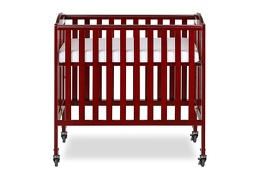 Cherry 3 in 1 Folding Portable Crib 03 Silo