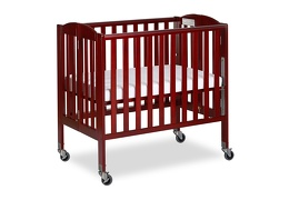 Cherry 3 in 1 Folding Portable Crib 05 Silo