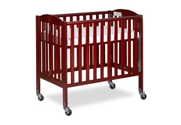 Cherry 3 in 1 Folding Portable Crib 06 Silo
