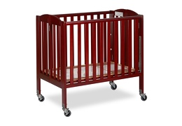 Cherry 3 in 1 Folding Portable Crib 07 Silo