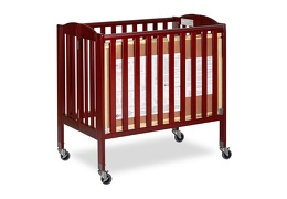 Cherry 3 in 1 Folding Portable Crib 08 Silo