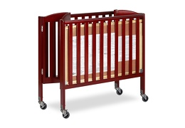 Cherry 3 in 1 Folding Portable Crib 09 Silo