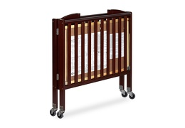 Espresso 3 in 1 Folding Portable Crib 10 Silo