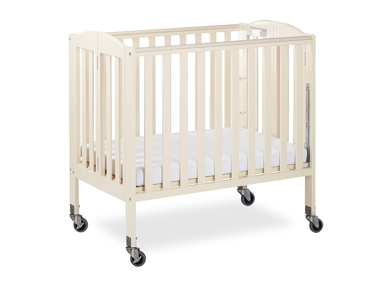 French White 3 in 1 Folding Portable Crib 04 Silo