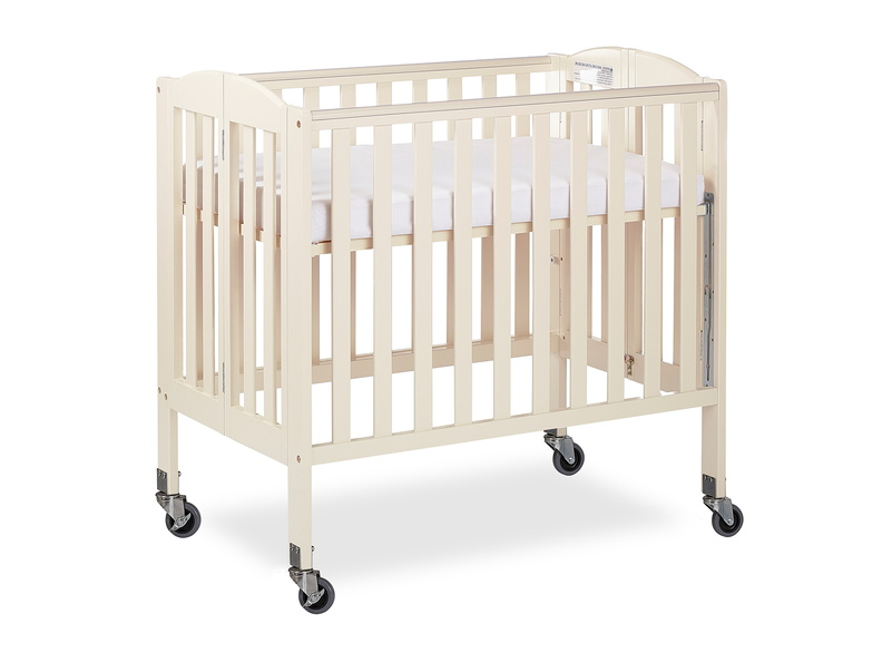 French White 3 in 1 Folding Portable Crib 06 Silo