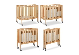 Natural 3 in 1 Folding Portable Crib Collage