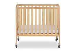 Natural 3 in 1 Folding Portable Crib 01 Silo