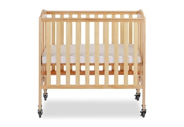 Natural 3 in 1 Folding Portable Crib 02 Silo