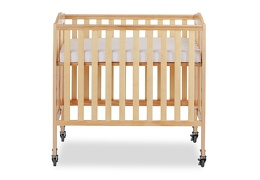 Natural 3 in 1 Folding Portable Crib 03 Silo