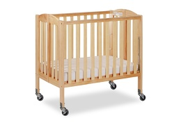 Natural 3 in 1 Folding Portable Crib 04 Silo