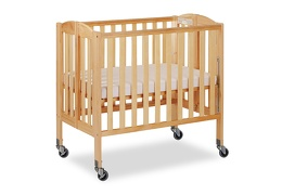 Natural 3 in 1 Folding Portable Crib 05 Silo