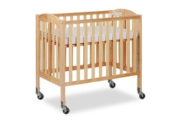 Natural 3 in 1 Folding Portable Crib 06 Silo
