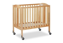 Natural 3 in 1 Folding Portable Crib 07 Silo