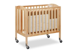 Natural 3 in 1 Folding Portable Crib 08 Silo